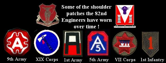 82 engineers bamberg germany unit patches